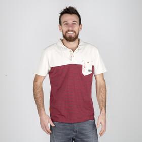ABK Dal Poloshirt Heren, bordeaux